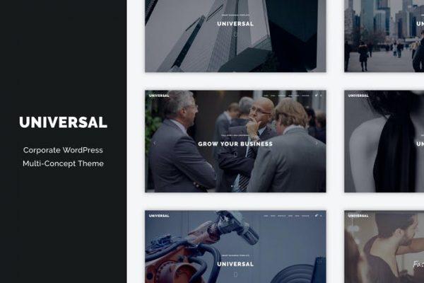 Universal - Kurumsal WordPress Multi