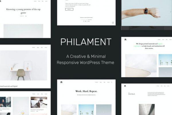 Philament -  Fotoğrafçılık / Portföy WP Temasısı