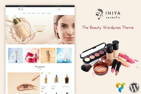Iniya - Kozmetik WordPress Temasısı