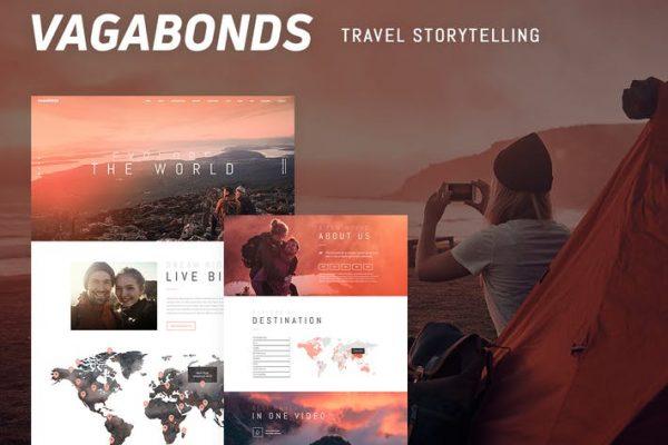 Vagabonds -  Kişisel Seyahat ve Yaşam Tarzı Blog Temasısı