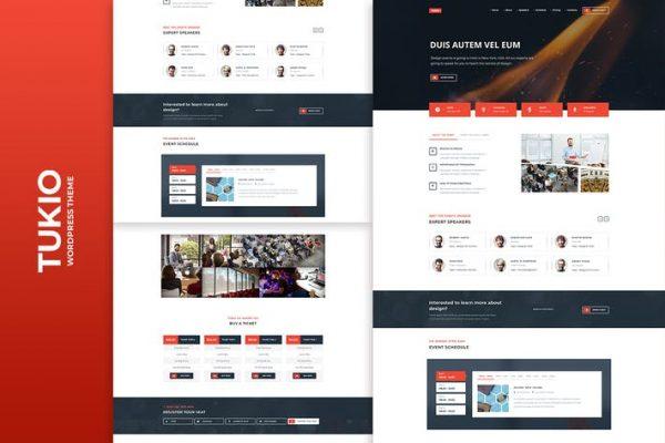 Tukio -  Etkinlik Açılış Sayfası WordPress Temasısı