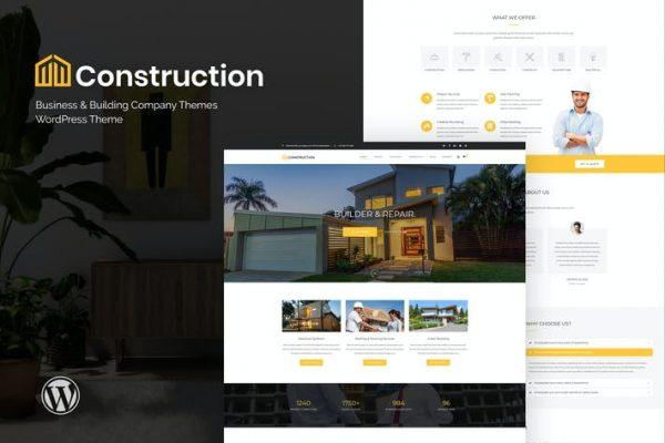Construction -  İş ve İnşaat Şirketi WordPre
