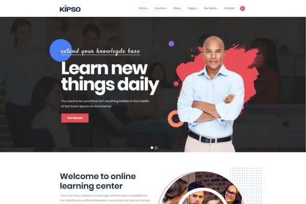 Kipso - Eğitim LMS WordPress Temasısı