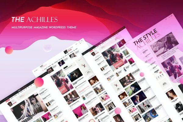Achilles -  Çok Amaçlı Dergi ve Blog WordPress