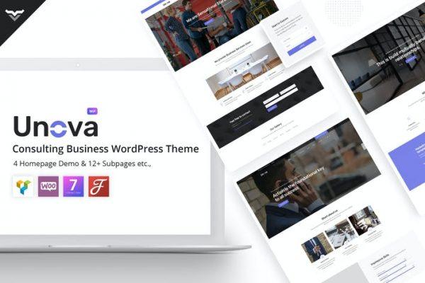 Unova -  Danışmanlık İş WordPress Temasısı