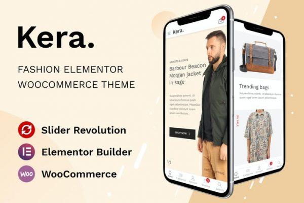Kera -  Moda Elementor WooCommerce Temasısı