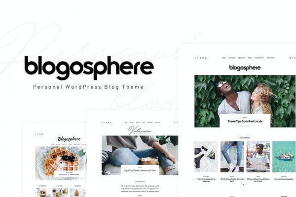 Blogosphere - Çok Amaçlı Bloglama Temasısı