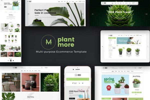 Plantmore - Duyarlı WooCommerce WordPress Temasısı