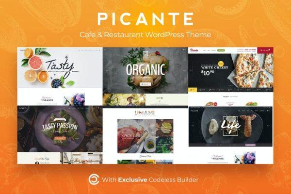 Picante -  Restoran WordPress Temasısı