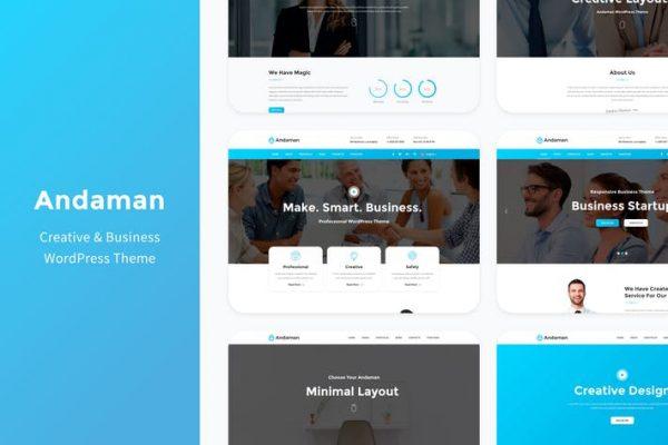 Andaman -  Yaratıcı ve İş WordPress Temasısı