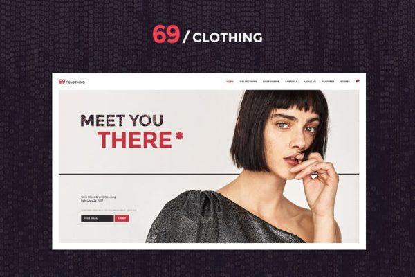 69 Clothing Teması
