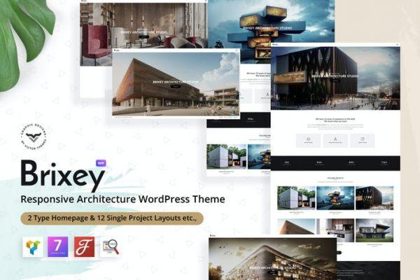 Brixey - Duyarlı Mimari WordPress Temasısı