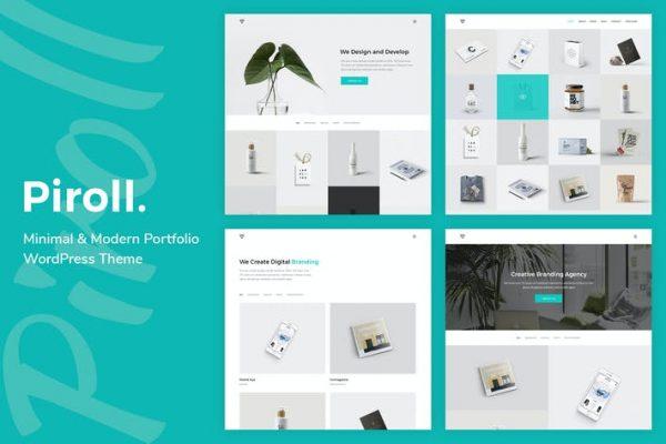 Piroll -  Portföy WordPress Temasısı