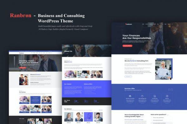Ranbron - İş ve Danışmanlık WordPress Temasısı