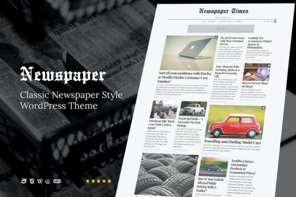 NewsPaper - Haberler ve Dergi WordPress Temasısı