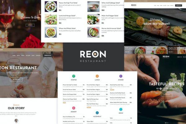 Restaurant Food Cafe WordPress - Reon