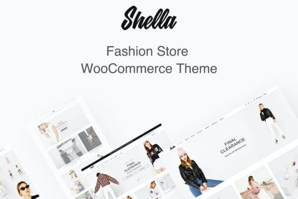 Shella Fashion Store WooCommerce  Teması