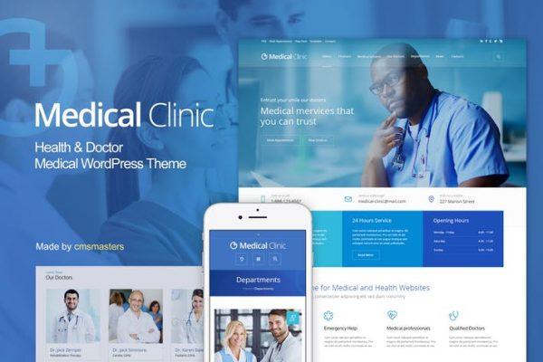 Medical Clinic - Sağlık ve Doktor Tıbbi WP Temasısı