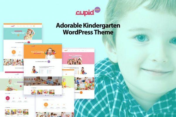 CUPID -  Sevimli Anaokulu WordPress Temasısı