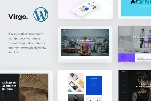 Virgo. - Çok Amaçlı WordPress Temasısı