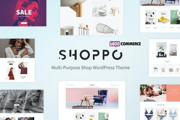 Shoppo - Çok Amaçlı WooCommerce Mağazası Temasısı