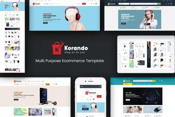 Korando -  WooCommerce WordPress için Teması