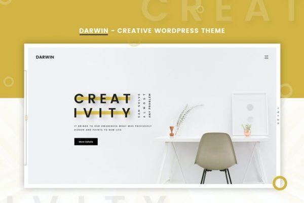 Darwin -  Yaratıcı WordPress Temasısı