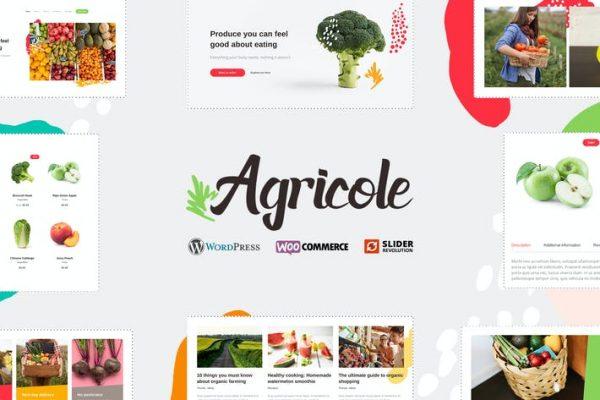 Agricole -  Organik Gıda ve Tarım WP Temasısı