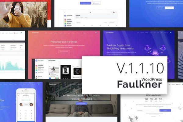 Faulkner Responsive Multiuse WordPress Teması