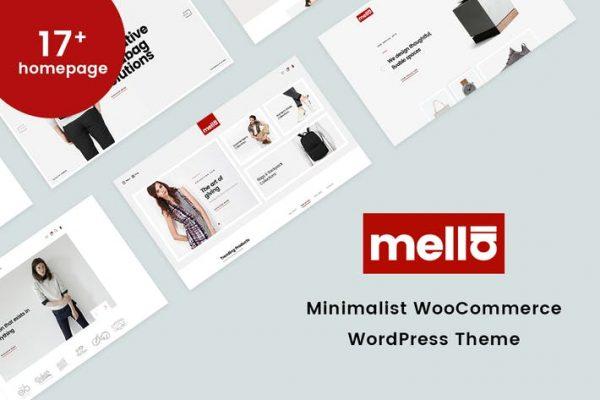 Mella - Minimalist WooCommerce WordPress Temasısı