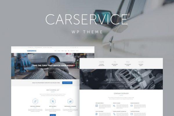 Car Service -  Mekanik Auto Shop WordPress Temasısı