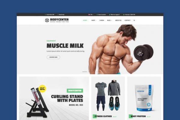 BodyCenter - Fitness WooCommerce WordPress Temasısı