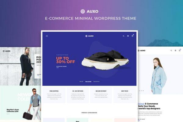 Auxo -  Minimal WooCommerce WordPress Temasısı