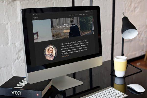 Marjetka -  Kadınsı bir WordPress Blog Temasısı