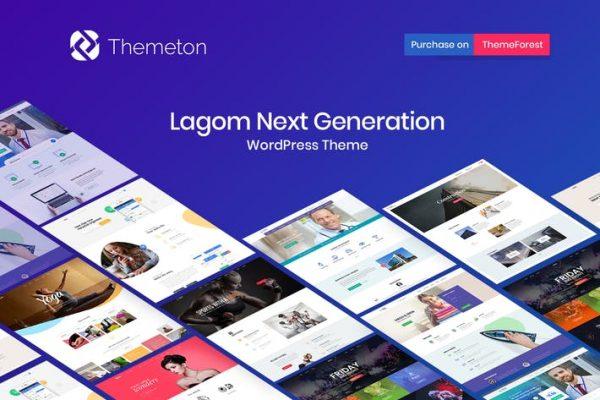Lagom - Multi Concept Çok Amaçlı WordPress Temasısı
