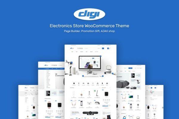 Digi -  WordPress için Elektronik Teması