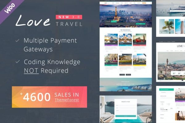 Travel WordPress  Teması