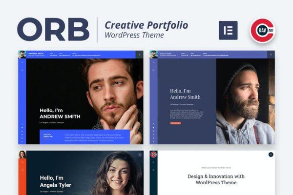 ORB - Yaratıcı Portföy WordPress Temasısı