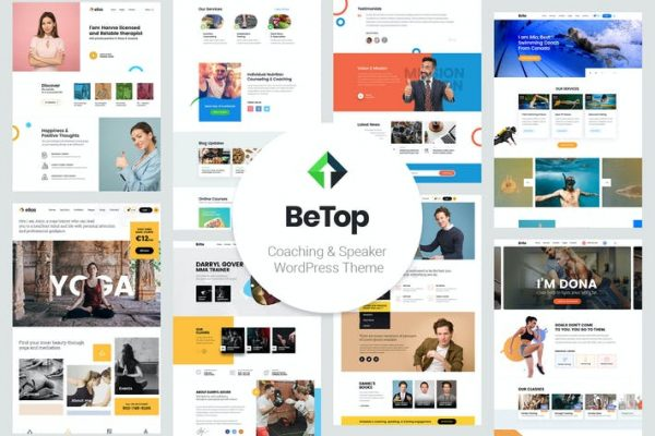 BeTop -  Koçluk ve Konuşmacı WordPress Temasısı
