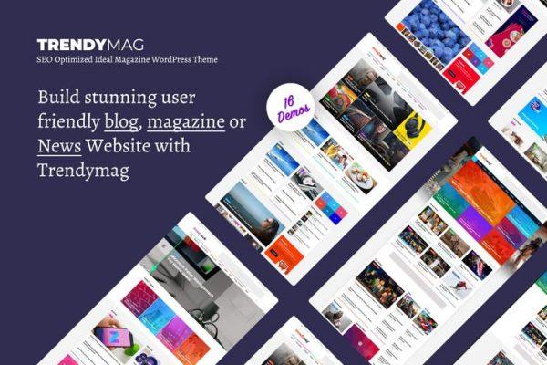 TrendyMag -  WordPress Haber Dergisi ve Blog Temasısı