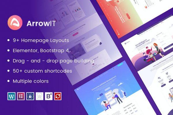 ArrowIT -  Teknoloji, Dijital WordPress Temasısı