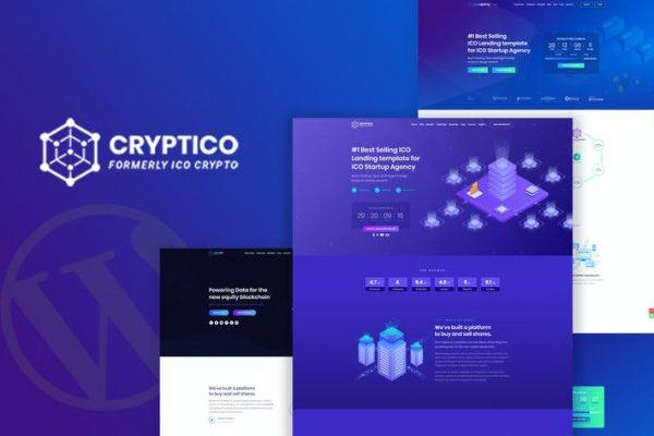 Cryptico - ICO Kripto İnişi ve Kripto Para Birimi WP
