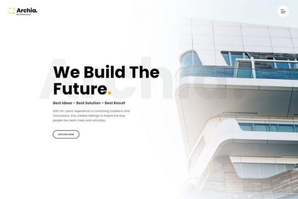 Archia - Mimari ve İç Mekan WordPress Temasısı