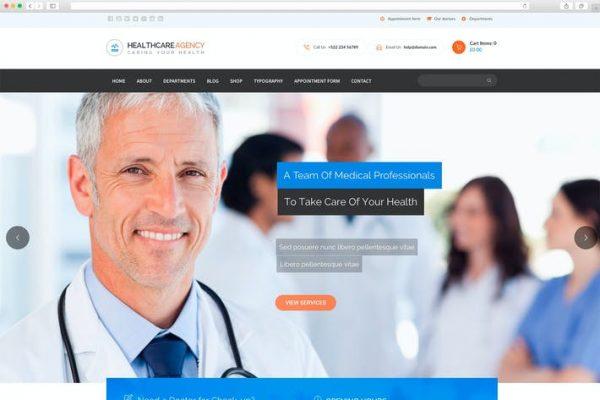 Healtcare Agency Teması