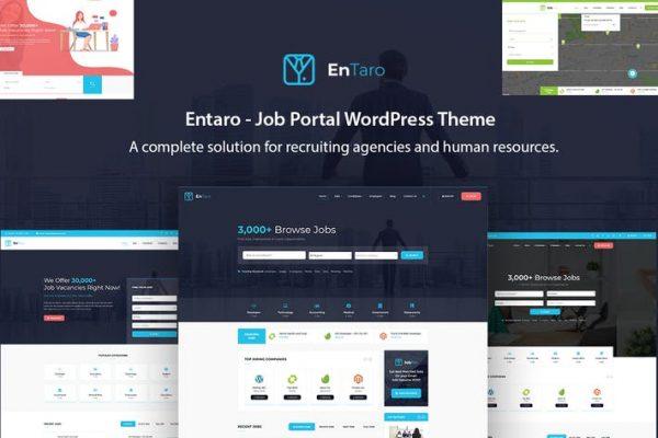 Entaro -  İş Portalı WordPress Temasısı