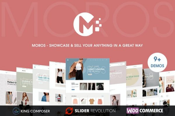 Moros -  e-Ticaret WordPress Temasısı