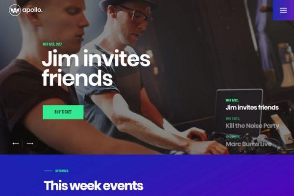 Apollo - Gece Kulübü, DJ Konseri ve Müzik Etkinliği WP