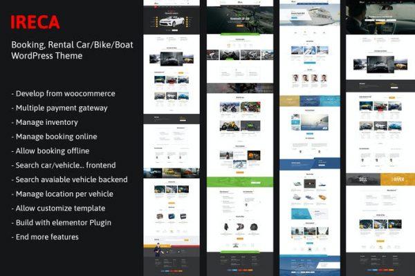 Car, Boat, Bike Booking Rental - Ireca