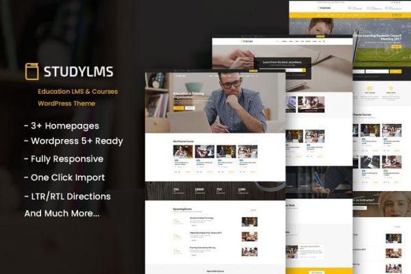 Studylms - Eğitim LMS ve Kurslar WordPress Temasısı