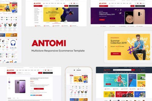Antomi -  WooCommerce WordPress için Teması